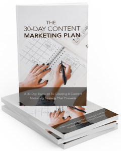 30 Day Content Marketing Plan