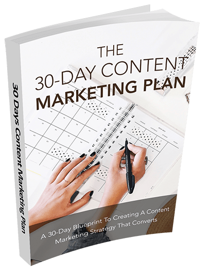 30 Days Content Marketing Plan