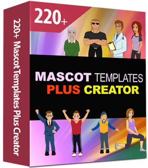 220 Mascot and Character Creator Plus Templates