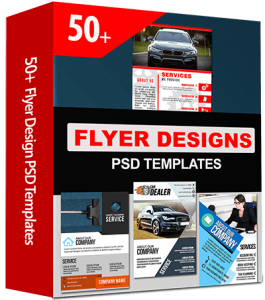 50 Business Flyer Templates with PSD File Source