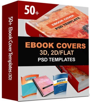 50+ 3D eBook Cover Templates with PSD Source Files