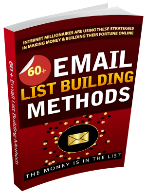 60 Email List Building Methods & Strategies