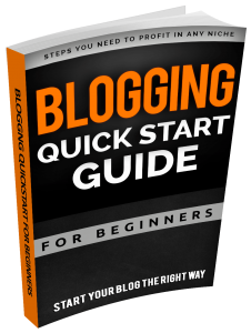 Blogging QuickStart For Beginners