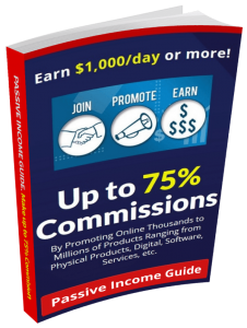Passive Income Guide for Beginners. Make Money with Affiliate Marketing. Up to 75% Referral Commissions