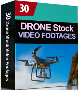 30 Drone Stock Video Clips & Footages Collection