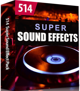 514 Super Sound Effects Pack
