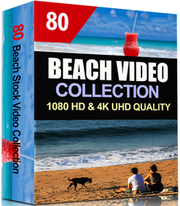 80 Beach Video Clips Collection