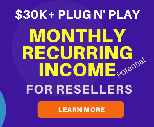 Recurring Monthly Income Opportunities for Resellers