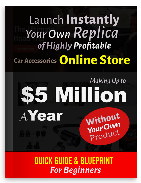 Profitable Car Accessories Instant Online Store Business